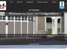 Open Up Garage Doors