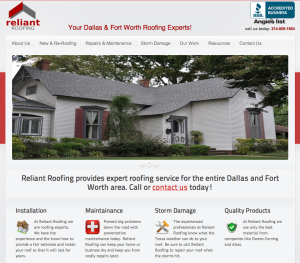 Reliant Roofing   -   reliantroofing.com